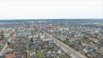 Flight Over Small Town 28