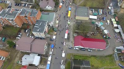 Flight Over Small Town, Fair On Street 1