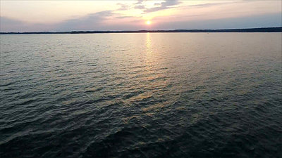 Flight Over The Lake, Sundown 10