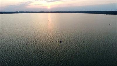Flight Over The Lake, Sundown 12
