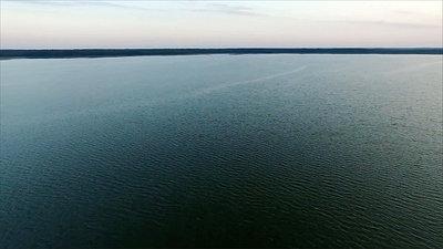 Flight Over The Lake, Sundown 13