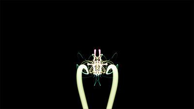 Abstract Strings VJ Loop 5