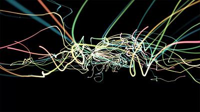 Abstract Strings VJ Loop 9