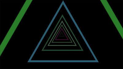 Abstract Triangles VJ Loop