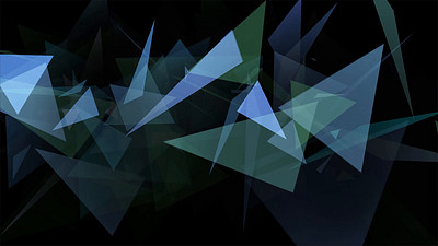 Triangles Splinters VJ Loop