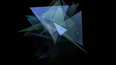 Triangles Splinters VJ Loop 2