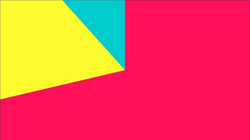 4K Multicolor Cinema Start Radius Style Flat Transition 2