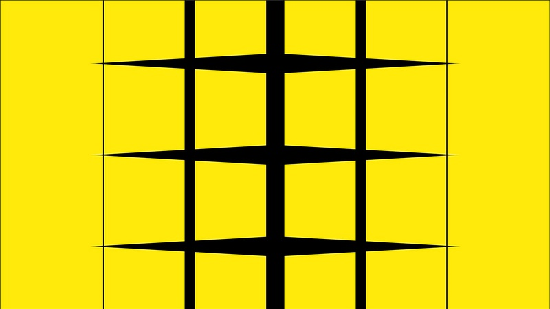 4K Squares With Random Shapes Transition