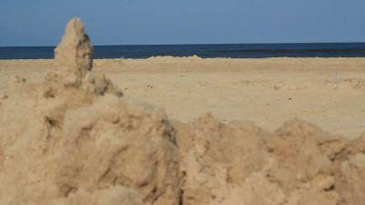 Sand Castle Less Blur