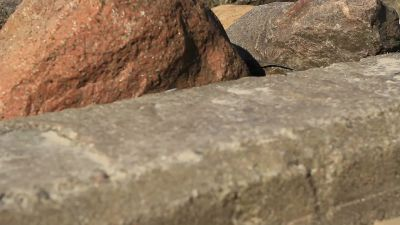 Sea Stones Concrete And Boat