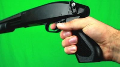 Shooting Shotgun Three Times Without Reload