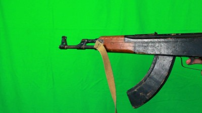 Ak47 Pull Out Holding The Trigger