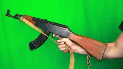 Holding Ak47 Finger On A Trigger