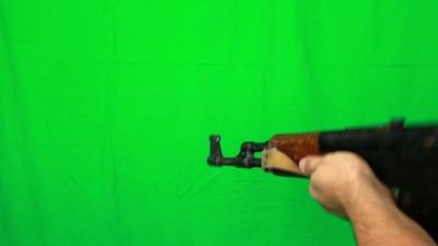 Long Shooting With Ak47