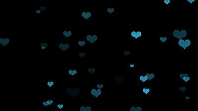 Nice Hearts Background Overlay