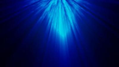 Portal Rays Blue Light Overlay