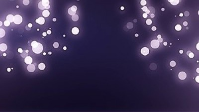 Bokeh Particles With Flare Both Sides Top