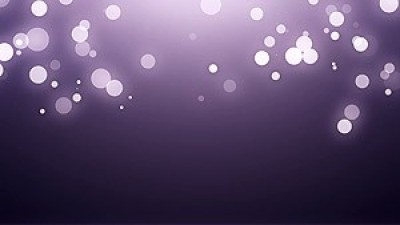 Bokeh Particles With Flare Top All Width