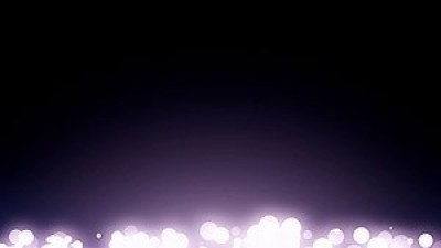Bokeh Particles With Flare Flare Bottom All Width