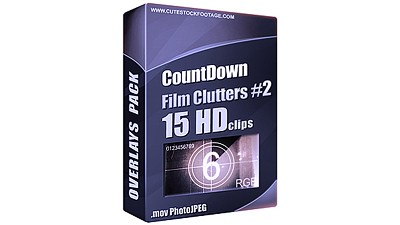 Countdown Film Clutters Pack 2 (15 in 1)