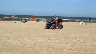 Quad Bike At The Beach