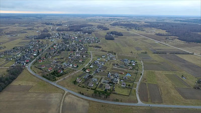 Flight Over Small Town 11