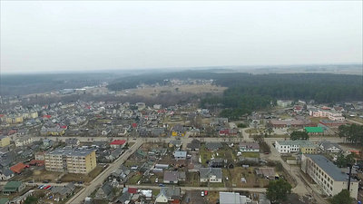 Flight Over Small Town 12