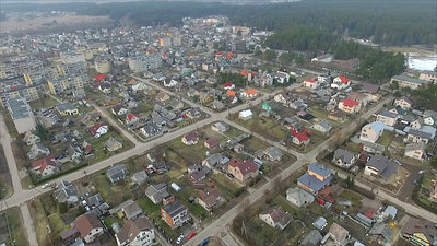 Flight Over Small Town 17