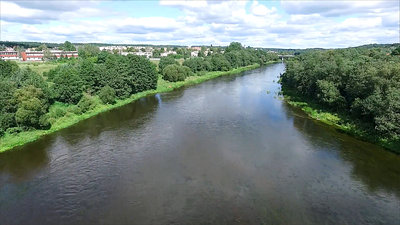 Aerial View Of River 5