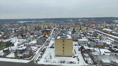 Panorama Over Small Town In Winter 3