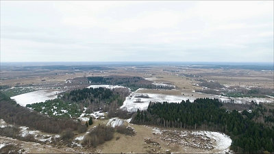 Panorama Over Landscape With Rotation 5