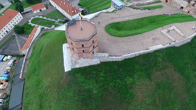 Flying Around The Tower 1