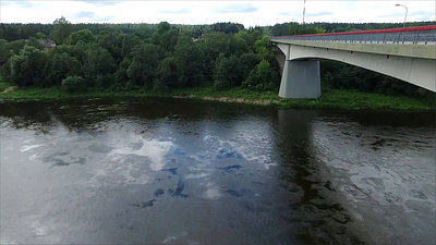 Flight Along The Bridge Through River 3