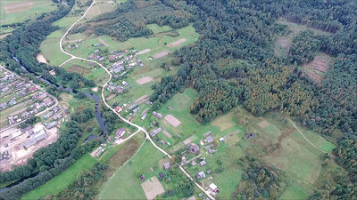 Flying Over Countryside 19