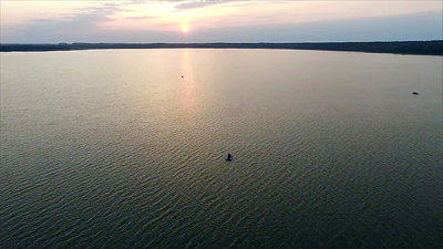 Flight Over The Lake, Sundown 12