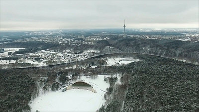 Flight Over Vingis Park, Vilnius 2