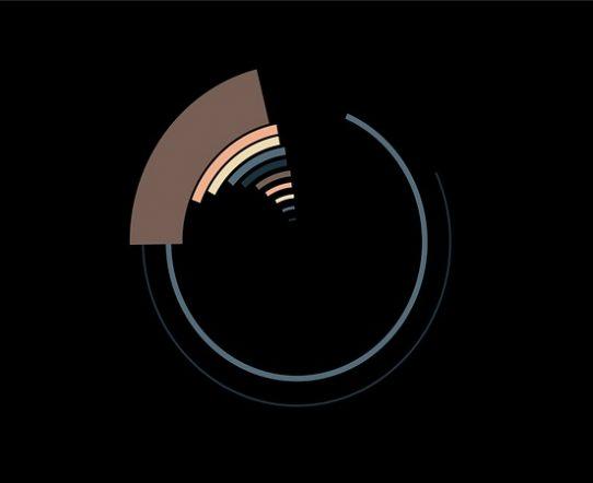 4K Flat Circle Transition Element 10