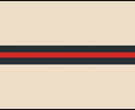 4K Horizontal Stripes Flat Transition