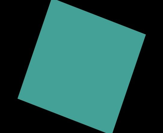 4K Rotating Square Flat Transition 3