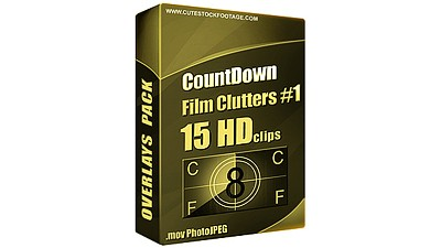 Countdown Film Clutters Pack 1 (15 in 1)