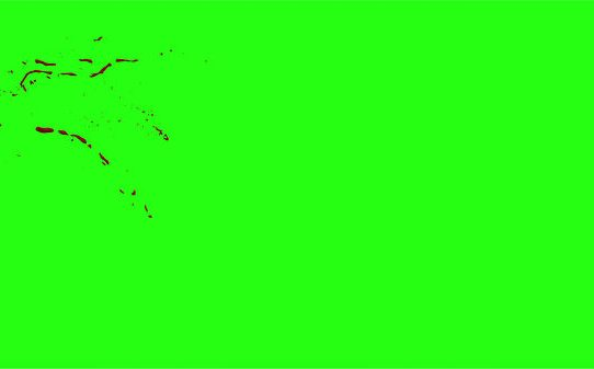 Hd Blood Burst Motion Blur Green Screen 27