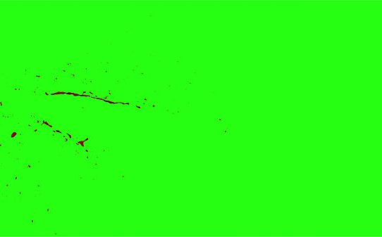 Hd Blood Burst Motion Blur Green Screen 38