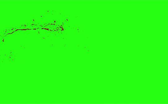 Hd Blood Burst Motion Blur Green Screen 50