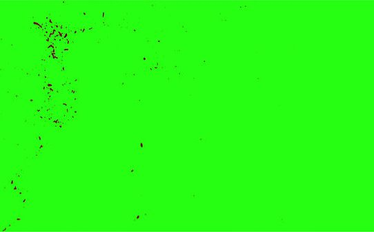 Hd Blood Burst Motion Blur Green Screen 187